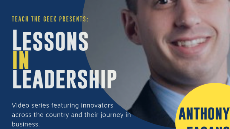 Lessons In Leadership: Anthony Fasano