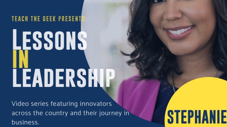 Lessons In Leadership: Stephanie Espy